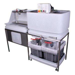 AC300 industriële spoelwaterinstallatie