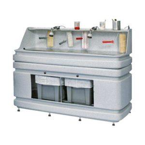 Watergedragen verf schoonmaken AS160 Wastewater paint rinsing system